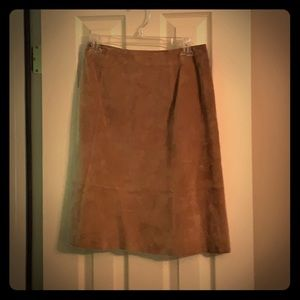 Ann Taylor Suede Skirt 2